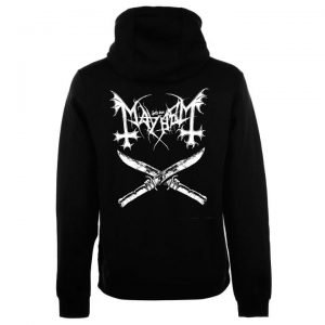 Mayhem is a Norwegian black metal band formed in 1984 in Oslo, Norway. They were one of the founders of the Norwegian black metal scene and their music has strongly influenced the black metal genre.